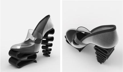 Zapato suela plegada y vinilo