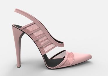 Zapato plumeti rosa palo