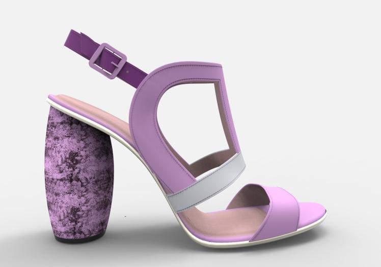 Sandalia ultraviolet